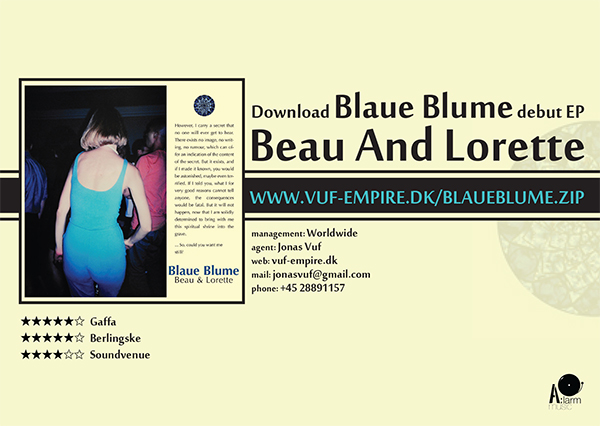 BLAUE BLUME // EP FLYER