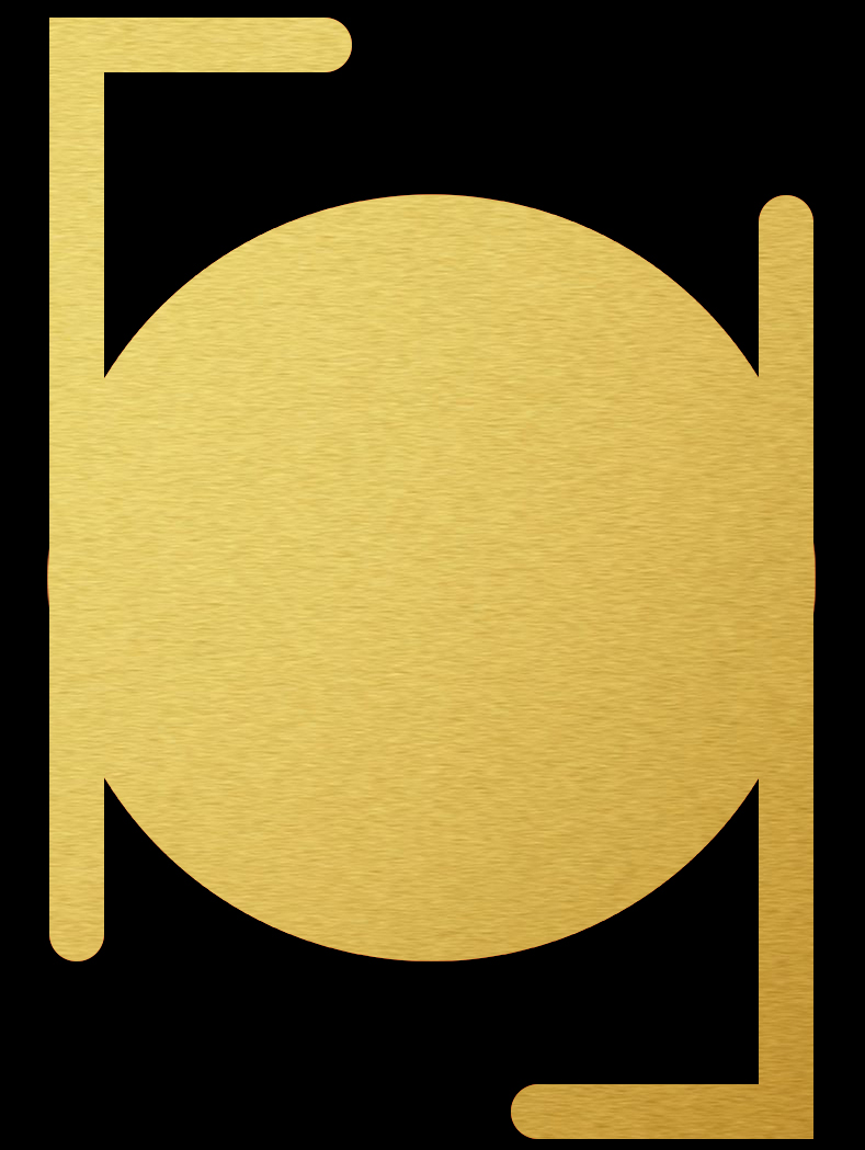 BLACK-N-GOLD // LOGO 1