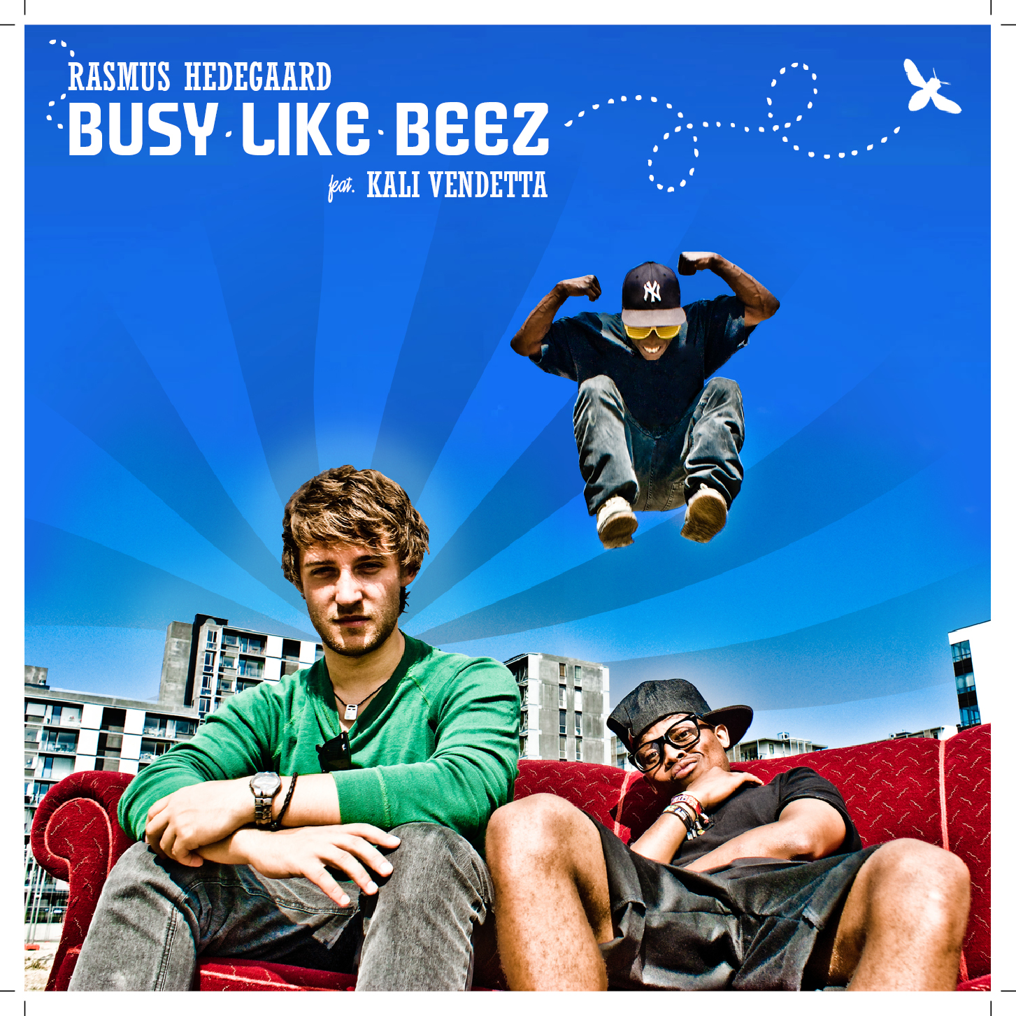 RASMUS HEDEGAARD // BUSY LIKE BEEZ (front)
