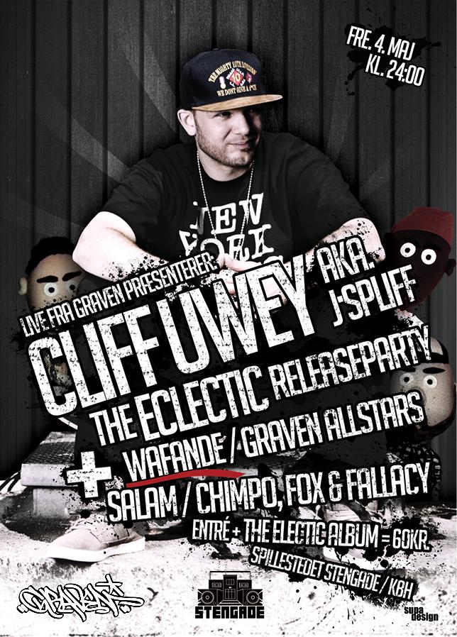 LIVE FRA GRAVEN // CLIFF UWEY RELEASE