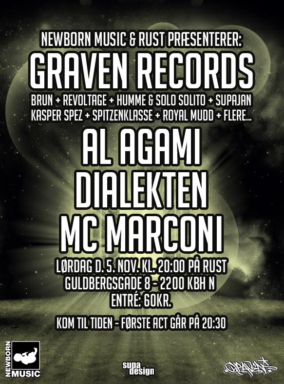 RUST // GRAVEN RECORDS