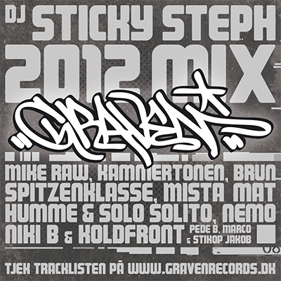 GRAVEN RECORDS // 2012 MIX (front)