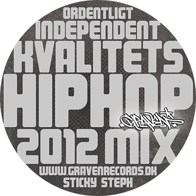 GRAVEN RECORDS // 2012 MIX (cd)