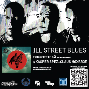 ILL STREET BLUES // sticker