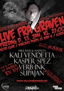 LiveFraGravenFredag13