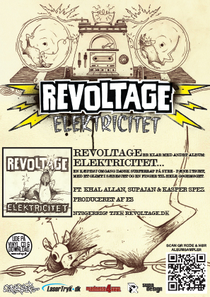 REVOLTAGE // ELEKTRICITET // FLYER