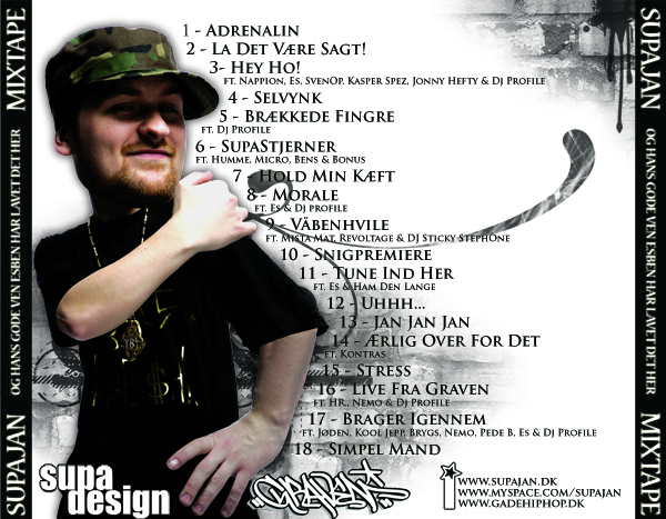 SUPAJAN // MIXTAPE (back)