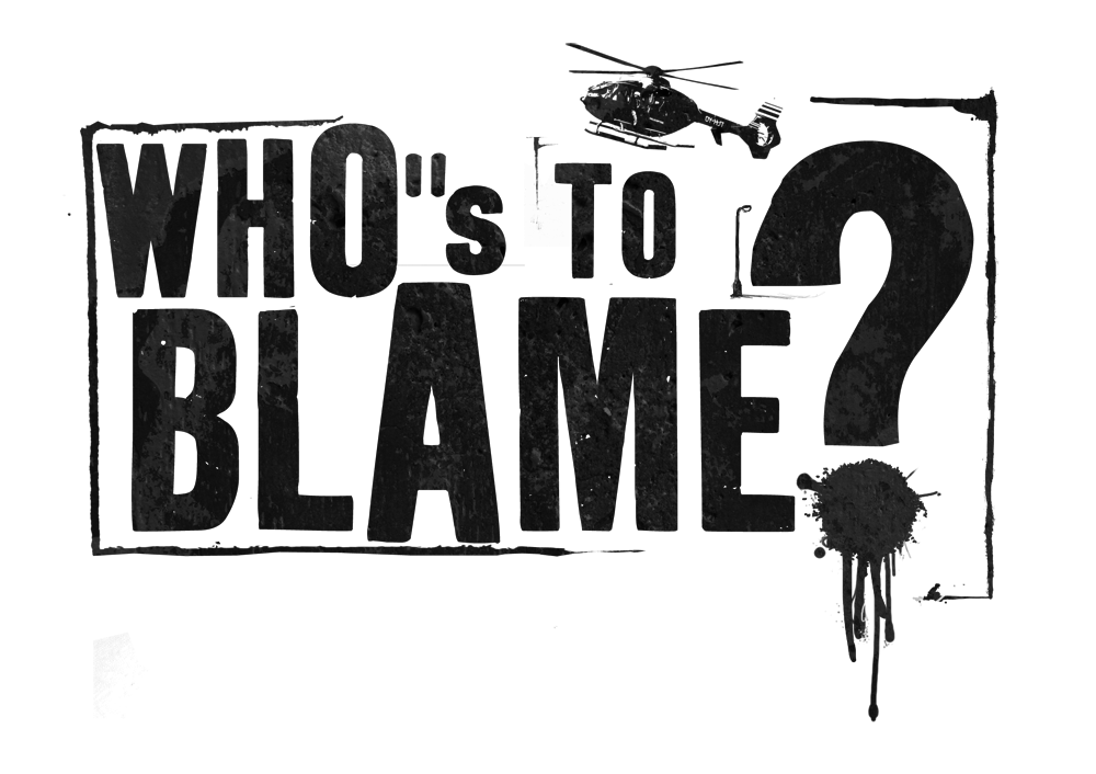 WHOS TO BLAME // LOGO