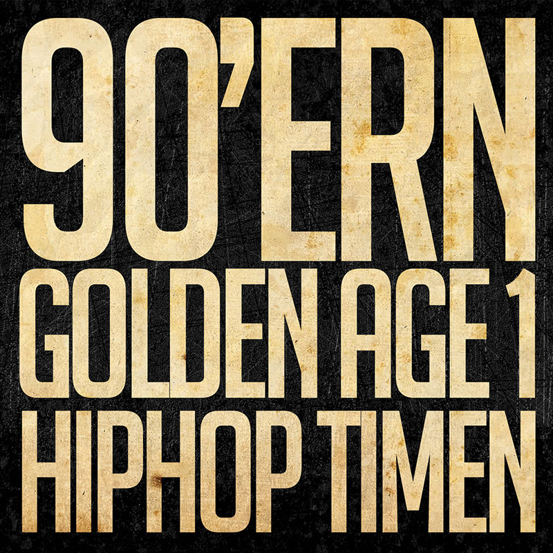 90'ERN 1 // HIPHOPTIMEN MIX (front)