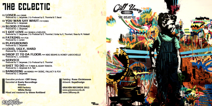 CLIFF UWEY // THE ECLECTIC (cd sleeve)