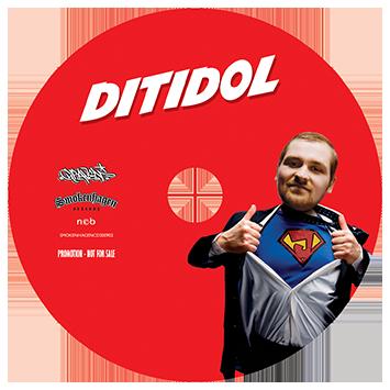SUPAJAN // DITIDOL (cd)