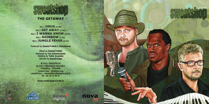 SWEATSHOP // THE GETAWAY (cd sleeve)